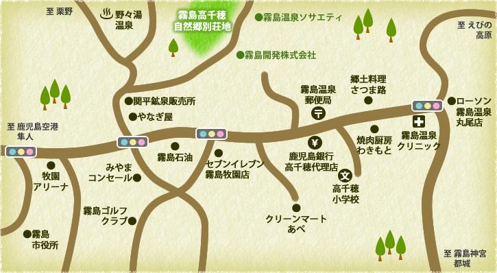 周辺施設マップ